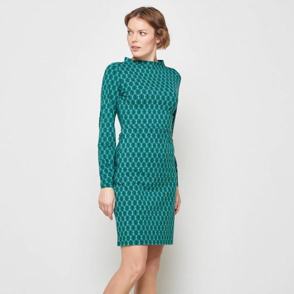 Kleid Stiefelkleid Winter Retro Alternative Mode Bio Baumwolle GOTS Zertifiziert S